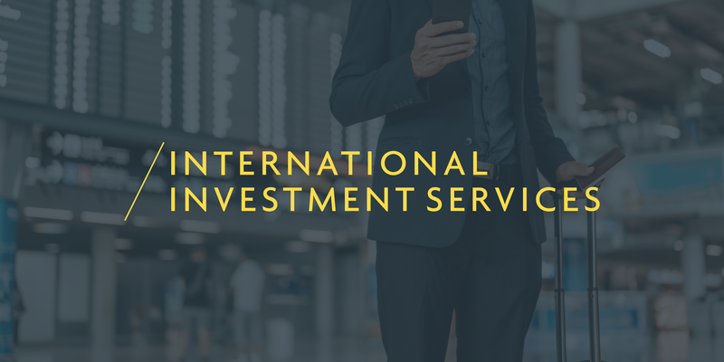 Inward investment services